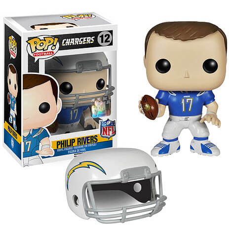 NFL Philip Rivers 1ère Vague Figurine Funko Pop!