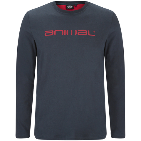Animal Men's Utako Long Sleeve Top - Total Eclipse Navy