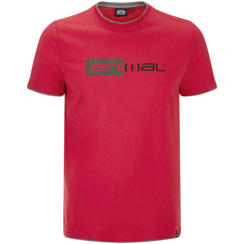Animal Men's Loaner T-Shirt - Crimson Red
