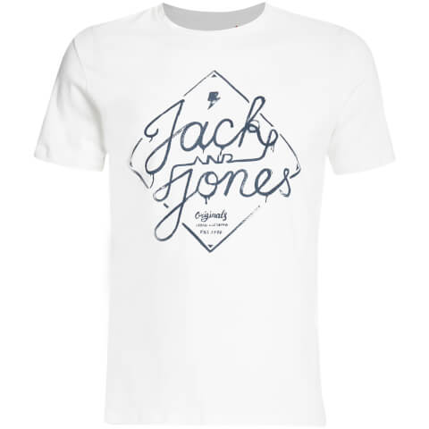 Jack & Jones Men's Originals Miller T-Shirt - Cloud Dancer