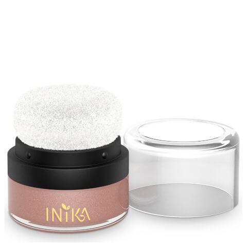 INIKA Mineral Blush Puff Pot - Pink Petal