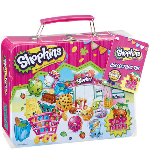 Top Trumps - Shopkins Collector's Tin Edition