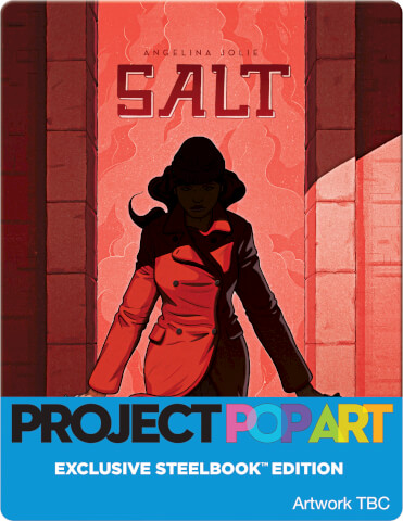 Salt (POP ART STEELBOOK) -Zavvi Exclusive Limited Edition Steelbook (Limited to 500 Units)