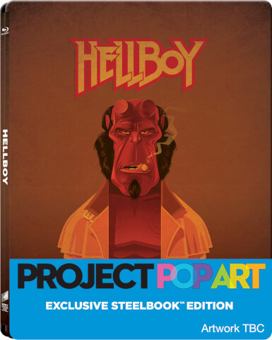 Hellboy (POP ART STEELBOOK) - Zavvi Exclusive Limited Edition Steelbook (Limited to 500 Units)