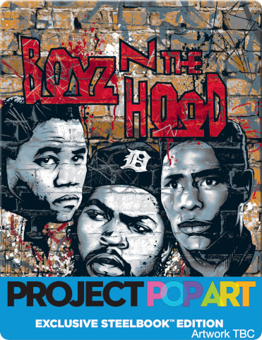 BOYZ N' THE HOOD (POP ART STEELBOOK) - Zavvi Exclusive Limited Edition Steelbook (Limited to 500 Units)