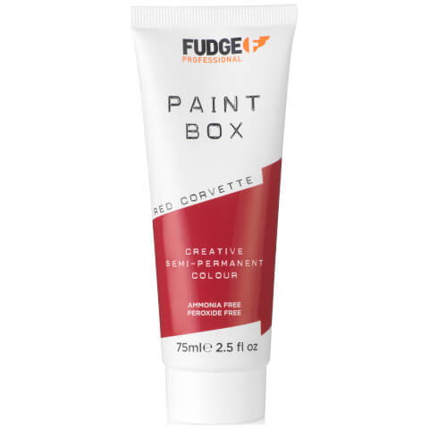 Fudge Paintbox Hair Colourant 75ml - Red Corvette
