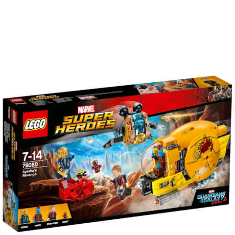 LEGO Marvel Super Heroes: Guardians of the Galaxy La revanche d'Ayesha (76080)