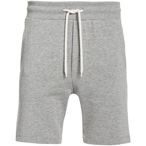 Jack & Jones Men's Originals New Houston Sweat Shorts - Light Grey Marl