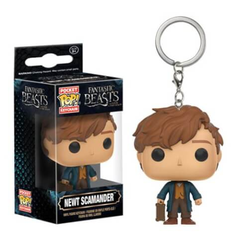 Fantastic Beasts and Where to Find Them Newt Pocket Pop! Key Chain