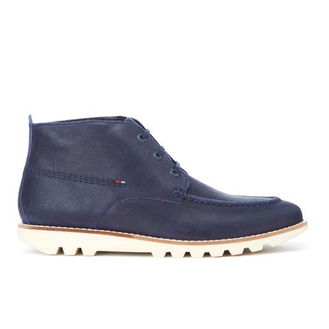 Kickers Men's Kymbo Moccasin Suede Boots - Dark Blue
