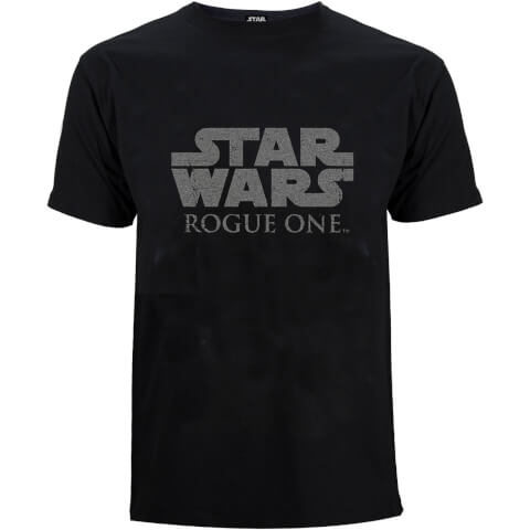 Star Wars Rogue One Men's Star Wars Logo T-Shirt - Black