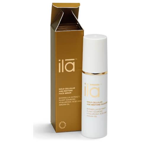 Ila-Spa Gold Cellular Age-Restore Face Serum 30ml