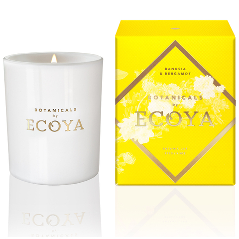 ECOYA Botanicals Evolution Banksia and Bergamot Candle - Botanic Jar