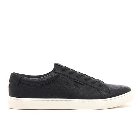 Baskets Basses Homme Sable PU Jack & Jones - Noir