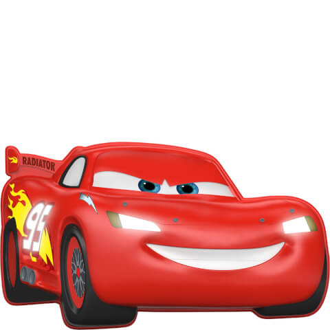 Disney Cars 3D Wall Light - Lightning McQueen