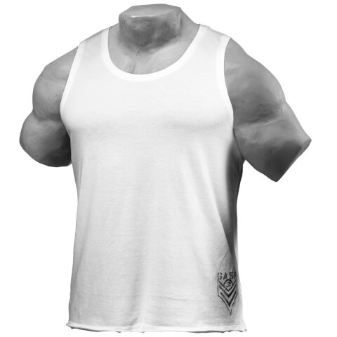 GASP Men's Broad Street Tank Top, White