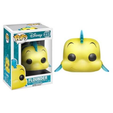Little Mermaid Flounder Pop! Vinyl Figur