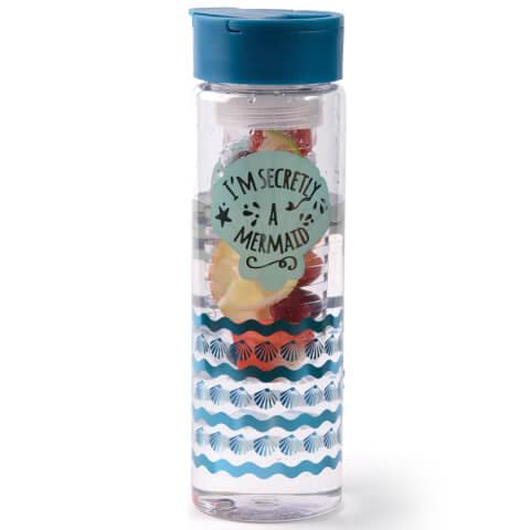 Mermaid Infuser Flask - Blue