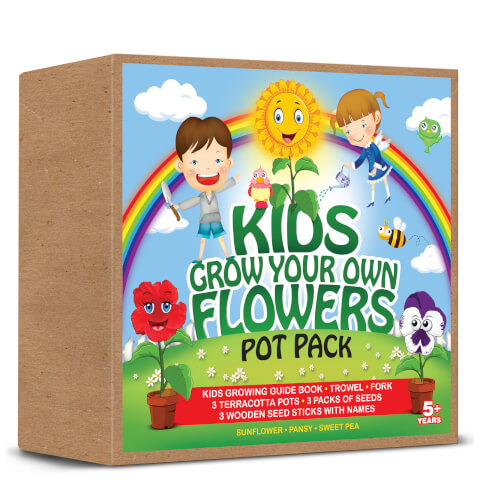 Kids Grow Your Own Flowers Set