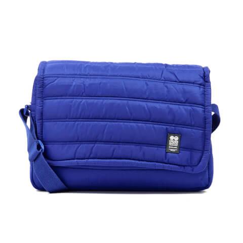 Crosshatch Ridger Quilted Messenger Bag - Sodalite Blue