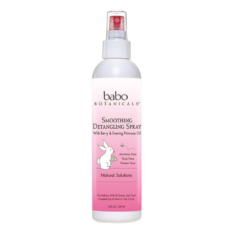 Babo Smoothing Detangling Spray - Berry & Primrose