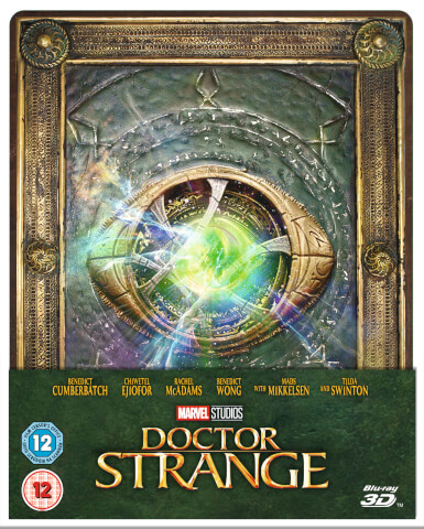 Doctor Strange 3D (Includes 2D Version) - Zavvi Exclusive Limited Edition Steelbook