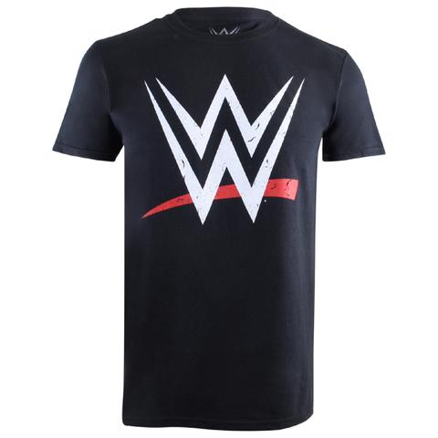 WWE Men's Logo T-Shirt - Black