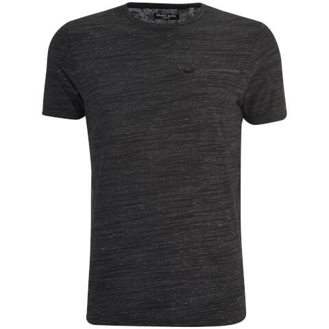 T-Shirt Homme Gustav Poche Zip Brave Soul -Gris