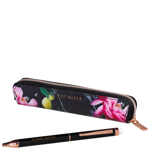 Ted Baker Touchscreen Black Pen - Citrus Bloom Range