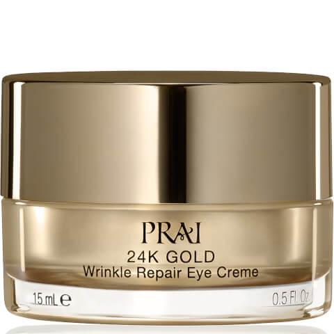 PRAI 24K GOLD Wrinkle Repair Eye Crème 0.5 fl.oz