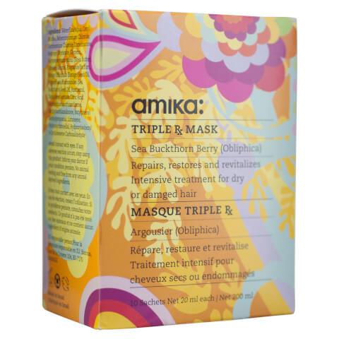Amika Triple RX Mask - 10 Pack 20ml