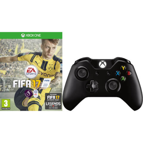FIFA 17 With Xbox One Wireless Controller