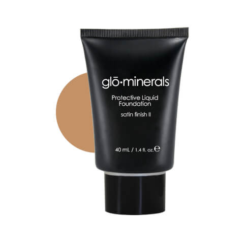 glominerals gloProtective Liquid Foundation Satin II - Honey-Light
