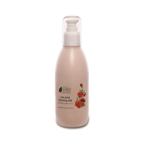 ilike organic skin care Rose Petal Cleansing Milk