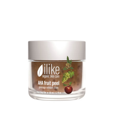 ilike organic skin care AHA Fruit Peel