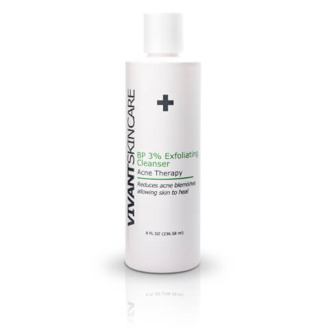 Vivant Skin Care BP 3% Acne Exfoliating Cleanser