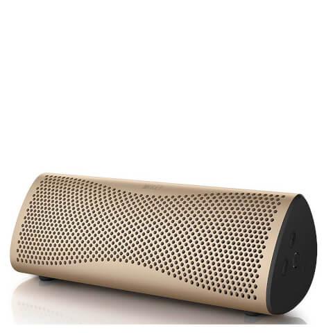 KEF MUO Bluetooth Speaker - Gold