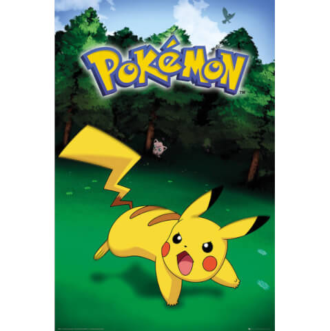Pokemon Pikachu Catch Maxi Poster - 61 x 91.5cm