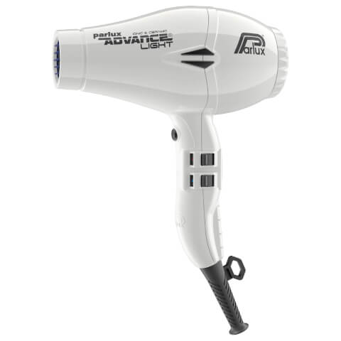 Parlux Advance Light Ceramic Ionic Hair Dryer - White