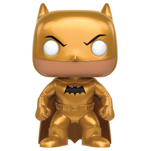 DC Heroes Golden Midas Batman LE Pop! Vinyl Figure