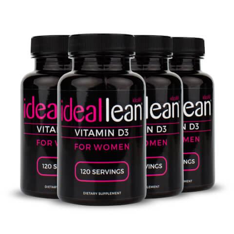 IdealLean Vitamin D 480 Capsules
