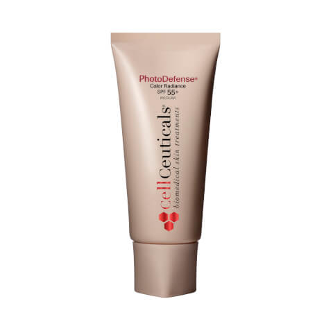 CellCeuticals PhotoDefense Color Radiance SPF 55+ - Medium