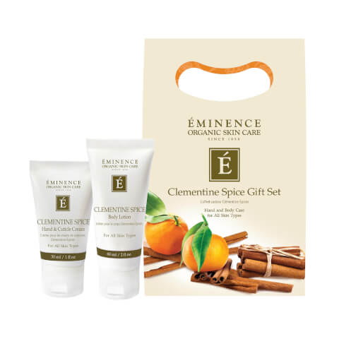 Eminence Clementine Spice Holiday Set