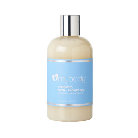 mybody Probiotic Bath + Shower Gel - Citrus Coconut