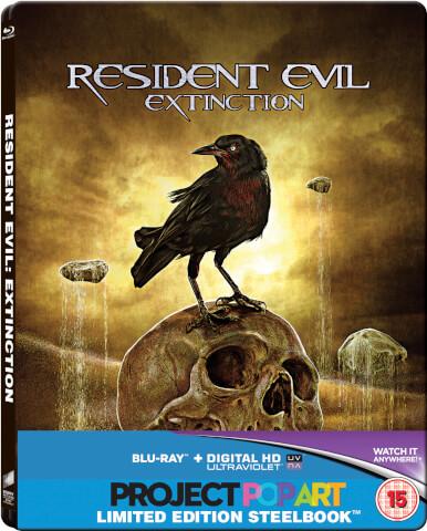 Resident Evil: Extinction - Steelbook Exclusif Limité pour Zavvi