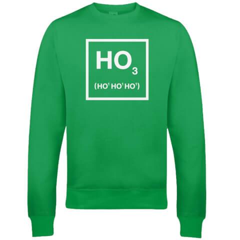 Ho Ho Ho Christmas Sweatshirt - Green