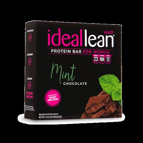 IdealLean Protein Bar Mint Chocolate