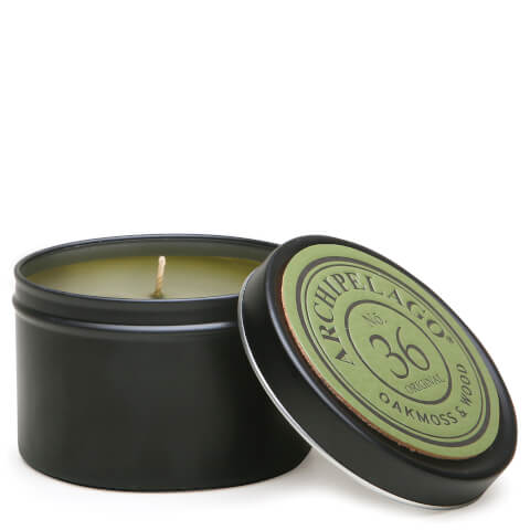 Archipelago Botanicals Wood Collection Oakmoss and Wood Tin Candle 162g