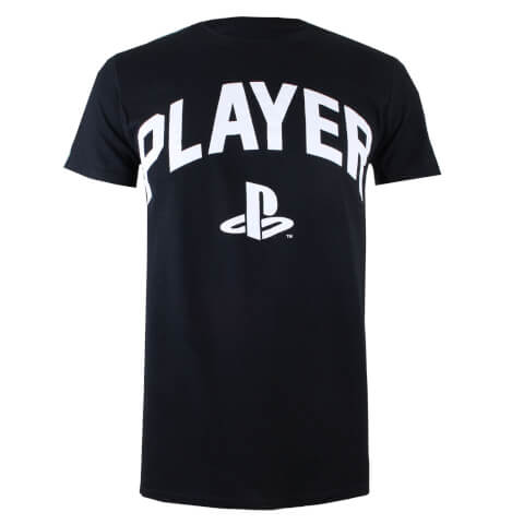 PlayStation Men's Player T-Shirt - Black