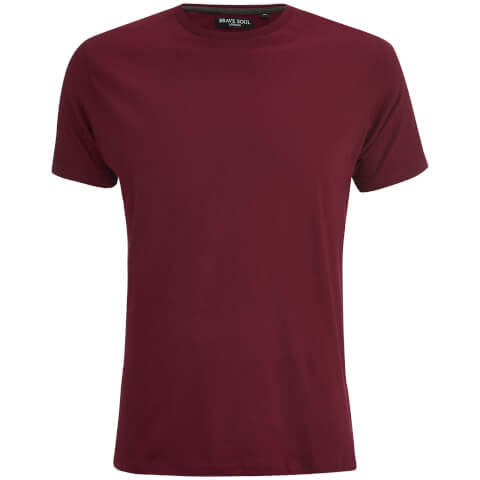Brave Soul Men's Grail T-Shirt - Wine